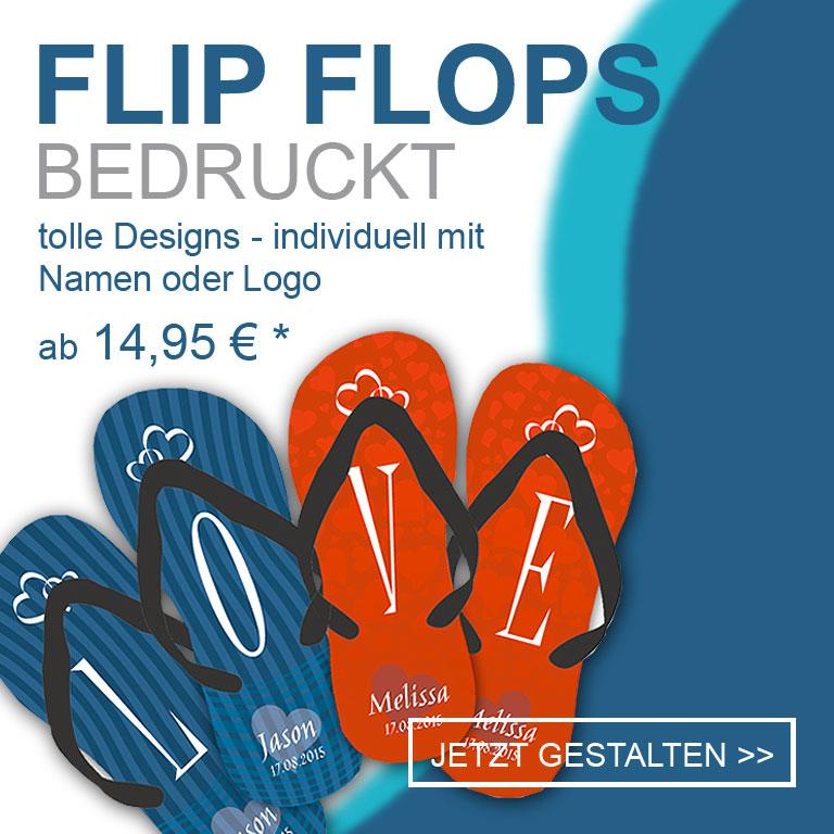 Flip Flops bedrucken