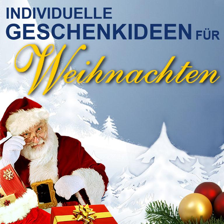 Weihnachtsgeschenke individuell bestellen