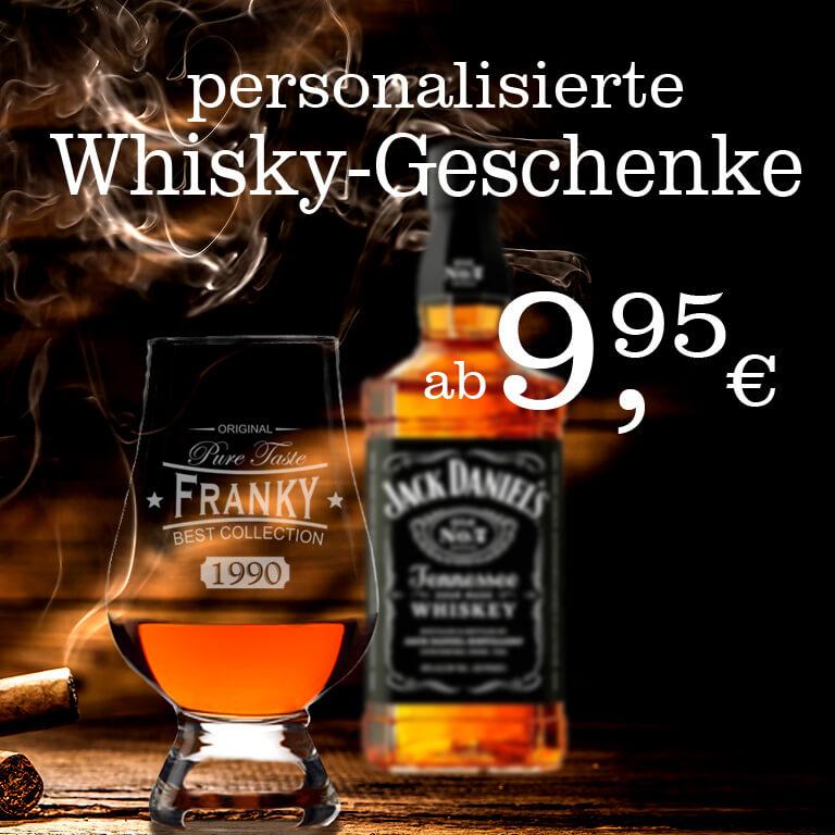 persönliche Whisky Geschenke