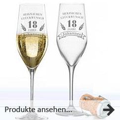Gläser mit Gravur gestalten | individuell Gläser gravieren und kaufen