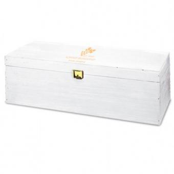 Geschenkebox Premium weiß lackiert 1er