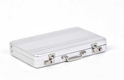 Mini Aluminium Koffer 98x65x15mm (10 Stück)