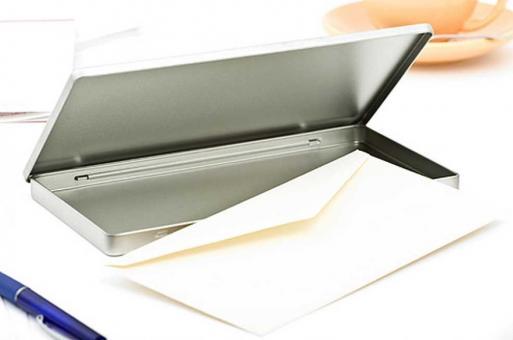 Metalldose DIN lang 225x115x10 mm (50 Stück)