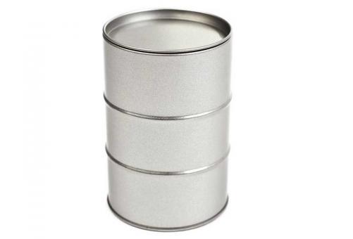Blechdose als Ölfass rund 72x105 mm (50 Stück)