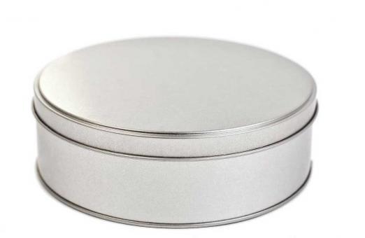 Blechdose rund 150x50 mm (20 Stück)