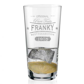 Vodka Glas mit Gravur