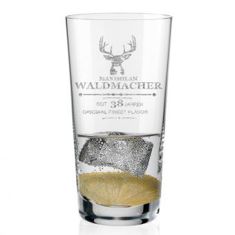 Longdrink Glas mit Gravur