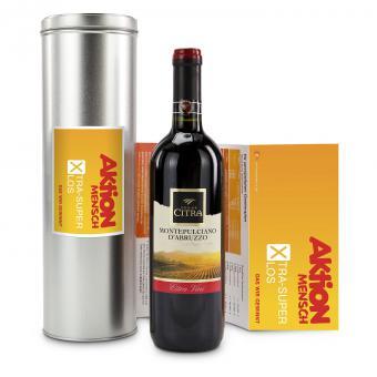 Wein Geschenkset Aktion Mensch