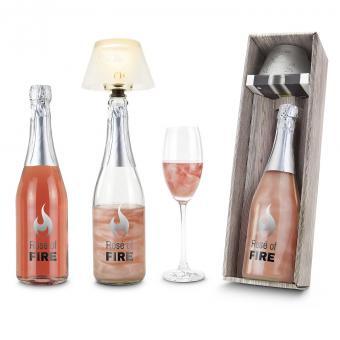 Geschenkbox Wine on Fire