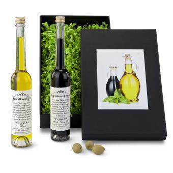 Geschenkset Essig & Öl - Aceto & Olio