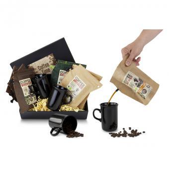 Kaffee Geschenkset Reise für 2
