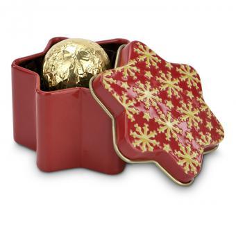 Weihnachtstrüffel in Dose als Geschenk Set
