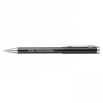DOVER Kugelschreiber - Aluminium schwarz - mit Gravur