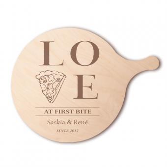 Pizzabrett mit individueller Gravur