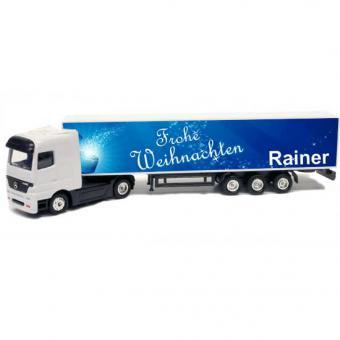 Spielzeug LKW, Truck mit Namen bedrucken