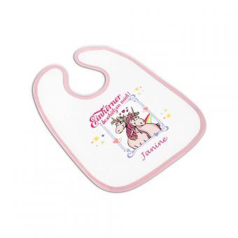 Einhorn Babylätzchen für Mädchen