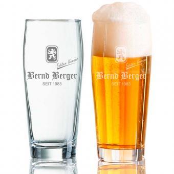 Bierbecher gravieren 0,5 l Bernd Berger