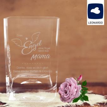 Leonardo Vase mit Gravur für Mama *Engel*