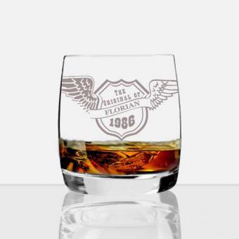 Whisky Glas gestalten * Flying Wings *
