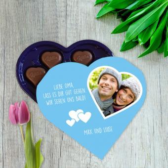 Milka Schokolade mit Foto bedrucken