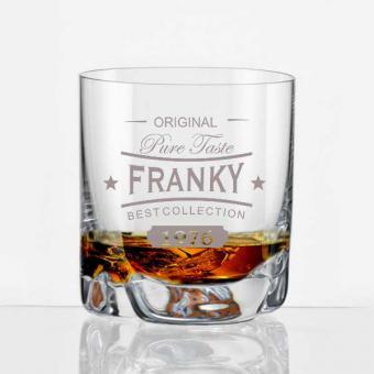 personalisierter Whiskybecher