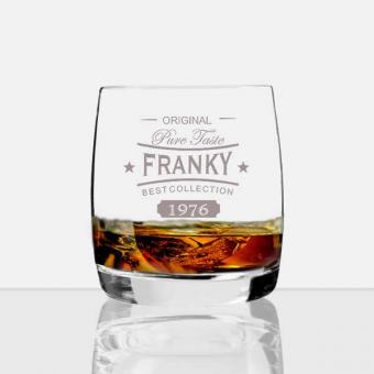 personalisiertes Whisky Glas *Franky *