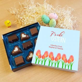 Lindt Schokolade zu Ostern mit individueller Banderole