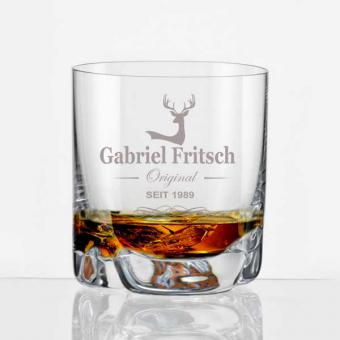 Whiskybecher mit Namen