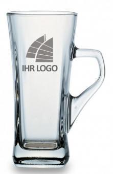 Eiskaffee Tasse mit Logo