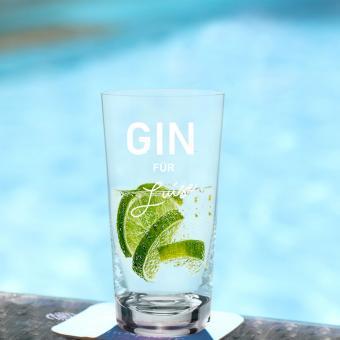 GIN Tonic Glas mit persönlicher Gravur