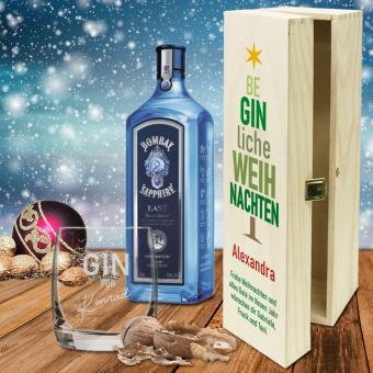 BeGINliches Weihnachts-Geschenk-Set mit Namen und Text bedruckt