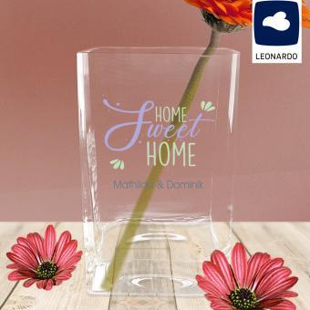 Home sweet Home, personalisierte Leonardo Vase