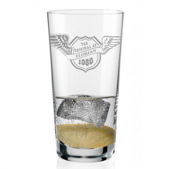 Longdrink Glas gestalten