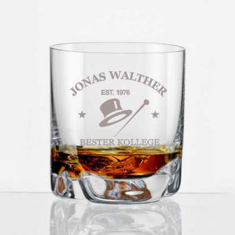 Whiskybecher mit Personalisierung