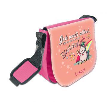 Einhorn Tasche für Kinder persönlich bedruckt