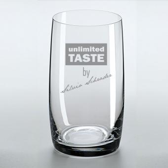 Longdrinkglas mit Ihrer Personalisierung