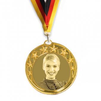 Medaille mit Logo Gravur