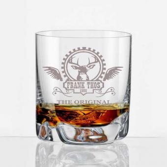 Whiskybecher gravieren