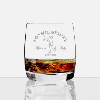 personalisiertes Whiskey Glas