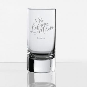 Schnapsglas Lieblingsmensch mit Namen