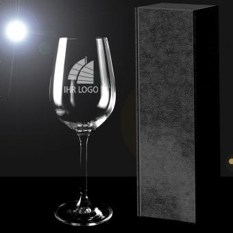 Weinglas mit Gravur in Geschenkverpackung PREMIUM Select