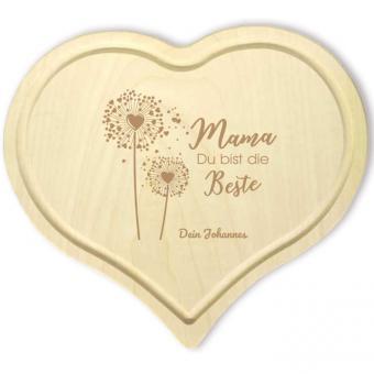 Herzbrettchen aus Holz Mama Du bist die Beste