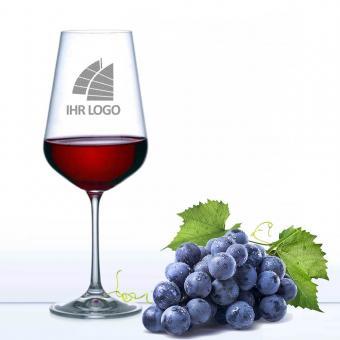 Weinglas mit Logo graviert 450 ml