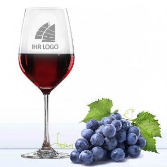 Gläser mit Logo Gravur - Weinglas Rotwein