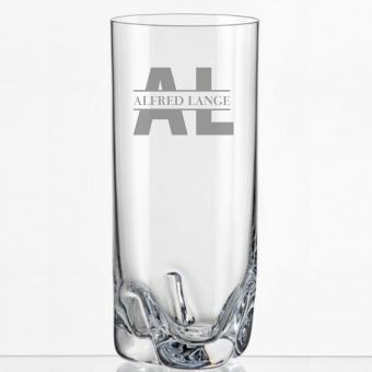 Saftglas mit persönlicher Gravur