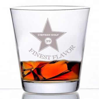 Whiskyglas gravieren