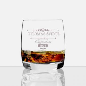 Whiskey Glas mit Gravur