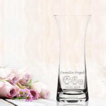 Vase Familie personalisiert