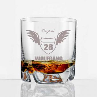 Whiskey-Becher Motiv