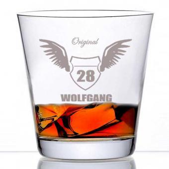 Whiskyglas Motiv